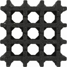 Aquadrain 30x30x8cm nero