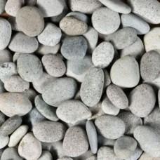 Zak beach pebbles grijs 40-60mm 25 kg