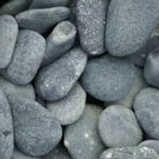 Zak beach pebbles antraciet 40-60mm 25 kg