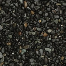 Bigbag beach pebbles black 8-16 mm 1000 kg