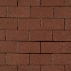 Halve betonklinker heidepaars met deklaag 10,5x10,5x8cm