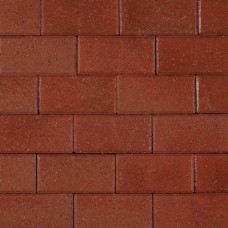 Betonklinker rood met deklaag 21x10,5x8cm