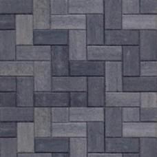 Betonklinker grijs zwart met deklaag 21x10,5x6cm