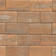 Betonklinker terborgbrons met deklaag 21x10,5x6cm