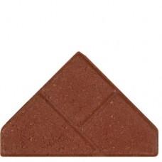 Bisschopsmuts rood met deklaag 8cm