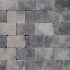 Koppelstones grijs zwart 21x14x6cm