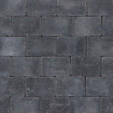 Koppelstones nero antraciet 21x14x6cm