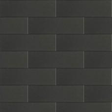 Linia palissade strak nero excellence 12x12x60cm met facet