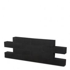 Linia palissade strak nero excellence 12x12x60cm