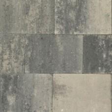Terrassteen+ grezzo grijs zwart 20x30x4cm