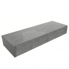 Traptrede massief grijs 18x40x100cm