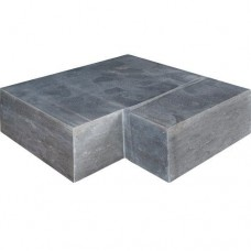 Asian bluestone traptrede hoek verzoet 50/50x35x15cm