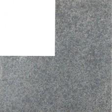 Basaltino Flamed vijverrand hoek 3x25x50/50cm
