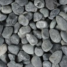 Zak beach pebbles 40-60 mm zwart 20 kg