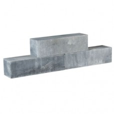 Classico Block grijs zwart 45x12,5x12,5cm