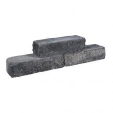 Cottage Walling grijs zwart 40x15x10cm