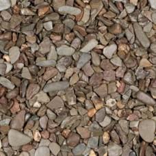 Zak flachkorn grijs beige 8-16 mm 20 kg