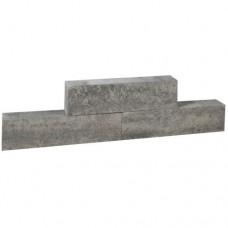 Forto walling grijs zwart 60x10x10cm