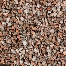 Bigbag graniet split rood grijs 8-16 mm 1,0 m3