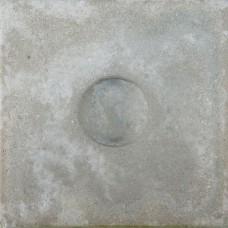Knikkerpottegel grijs 30x30x6cm