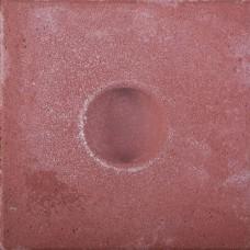 Knikkerpottegel rood 30x30x6cm
