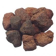 Midi bag lavastenen bruin rood 8-15 cm 0,5 m3