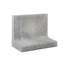 L-element grijs 50x30x40cm Gardenlux