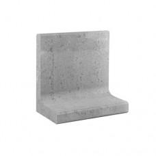 L-element grijs 50x30x50cm Gardenlux