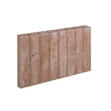 Mini blokjes palissadeband vierkant bruin 6x35x50cm