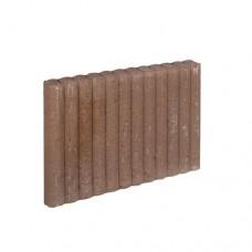 Mini rondo palissadeband bruin 6x40x50cm