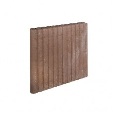 Mini rondo palissadeband bruin 6x60x50cm