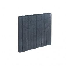 Mini rondo palissadeband zwart 6x60x50cm