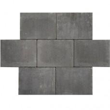 Premium abdijformaat strak antraciet zwart 20x30x6cm