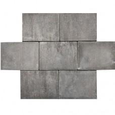 Premium abdijformaat strak grijs zwart 20x30x6cm