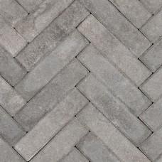 Premium waalformaat strak grijs zwart 5x20x6cm