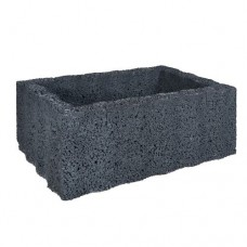 Ridgeflor groot zwart 60x40x25cm
