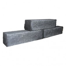 Rockstone Walling antraciet 60x15x12cm