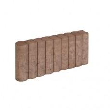 Rondo palissadeband bruin 8x25x50cm
