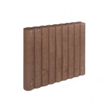 Rondo palissadeband bruin 8x50x50cm