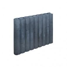 Rondo palissadeband zwart 8x50x50cm