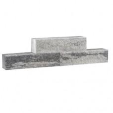 Split Wall grijs zwart 40x10x10cm