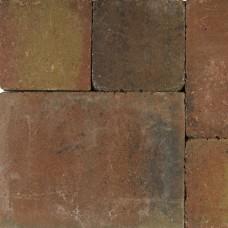 Tambourisés Brique brons 20x20x5cm