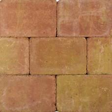 Tambourisés Brique geel terra 20x30x5cm