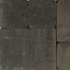 Tambourisés Brique grijs zwart 30x40x5cm
