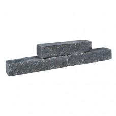 Tumbled Crackwall zwart 40x10x8cm
