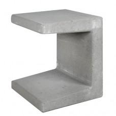 U-element grijs 40x40x50cm Gardenlux
