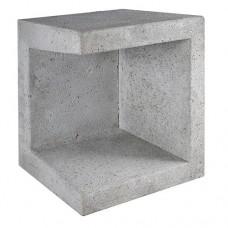 U-element hoek grijs 40x40x50cm Gardenlux