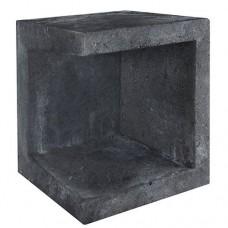 U-element hoek zwart 40x40x50cm Gardenlux