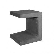 U-element zwart 30x30x40cm Gardenlux