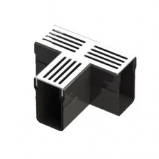 Aquadrain grey grating tee section 6,5cm